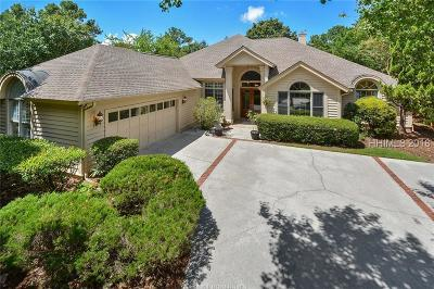Hilton Head Island Single Family Home For Sale: 26 Country Club Court