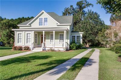 Beaufort County Single Family Home For Sale: 10 Halsey Circle