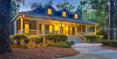 Beaufort County Single Family Home For Sale: 5 Magnolia Cresent Road