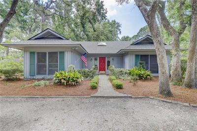 Hilton Head Island Single Family Home For Sale: 1 Ensis Road