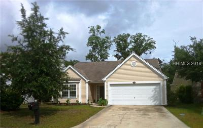 Bluffton SC Single Family Home For Sale: $199,000