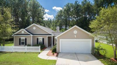 Bluffton SC Single Family Home For Sale: $200,000