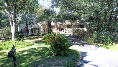 Hilton Head Island Single Family Home For Sale: 9 Rampart Lane