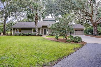 Hilton Head Island Single Family Home For Sale: 135 Coggins Point Road