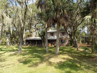 Bluffton Single Family Home For Sale: 72 Doe Island Road