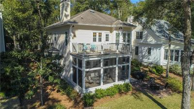 Hilton Head Island Single Family Home For Sale: 21 Crosswinds Drive