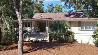 Hilton Head Island Single Family Home For Sale: 5 Midstream