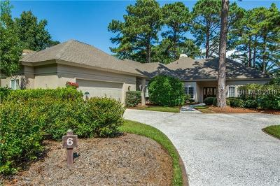 Beaufort County Single Family Home For Sale: 6 Glenmoor Place