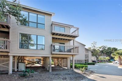 Hilton Head Island Condo/Townhouse For Sale: 10 Mooring Buoy Road #5