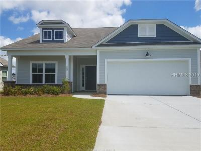 Hardeeville Single Family Home For Sale: 23 Freemans Loop