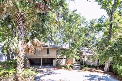 Hilton Head Island Single Family Home For Sale: 32 Mooring Buoy