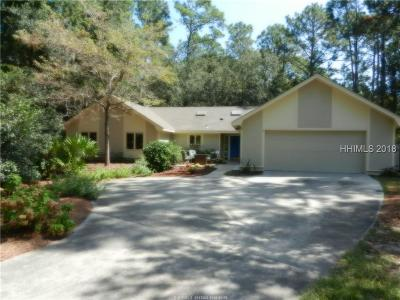 Hilton Head Island Single Family Home For Sale: 2 Headlands Drive