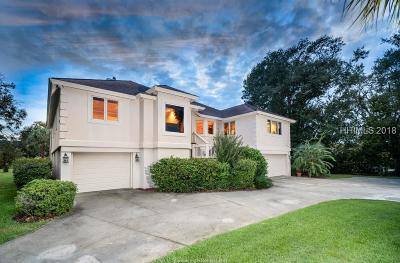 Hilton Head Island Single Family Home For Sale: 44 Outpost Ln