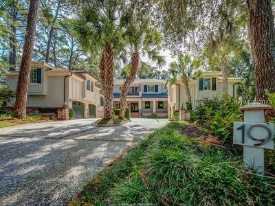 Hilton Head Island Single Family Home For Sale: 19 W Beach Lagoon Road