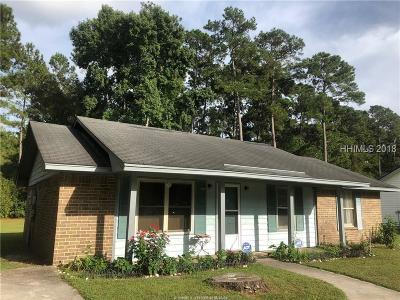 Beaufort Single Family Home For Sale: 5 Burlington Circle