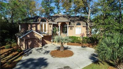 Hilton Head Island Single Family Home For Sale: 17 Bayley Point Lane