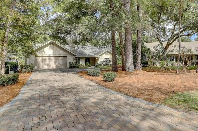 Hilton Head Island, Bluffton Single Family Home For Sale: 14 Windy Cove Court