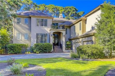 Beaufort County Single Family Home For Sale: 80 N Sea Pines Drive