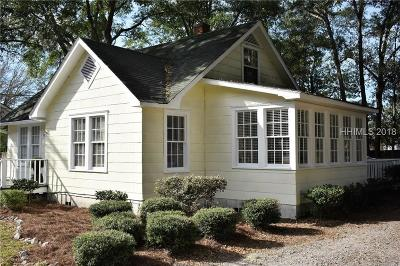 Ridgeland Single Family Home For Sale: 87 Grays Highway