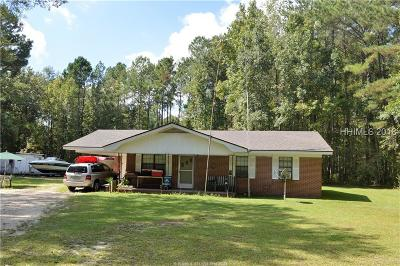 Ridgeland Single Family Home For Sale: 603 Wagon Branch Loop