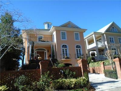 Hilton Head Island Single Family Home For Sale: 3 Reef Club
