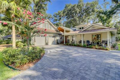 Hilton Head Island Single Family Home For Sale: 23 Scarborough Head Road