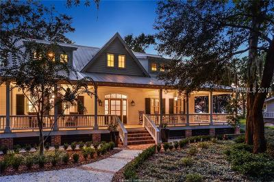Beaufort Single Family Home For Sale: 14 Settlers Cove