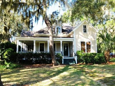 Beaufort Single Family Home For Sale: 107 Coosaw Club Drive