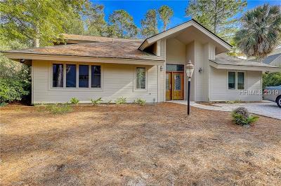 Hilton Head Island Single Family Home For Sale: 1 Gadwall Road