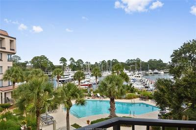 Beaufort County Condo/Townhouse For Sale: 7 Shelter Cove Lane #7535