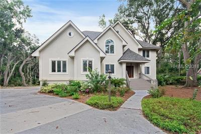 Hilton Head Island Single Family Home For Sale: 18 Foxbriar Lane