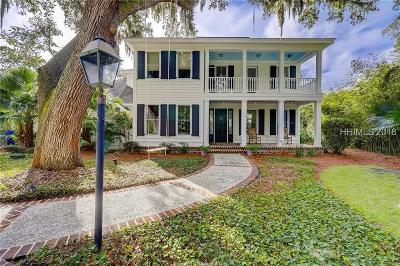 Beaufort County Single Family Home For Sale: 62 Widewater Road