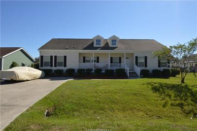Beaufort County Single Family Home For Sale: 33 Applemint Lane