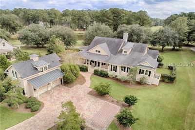 Okatie SC Single Family Home For Sale: $699,000