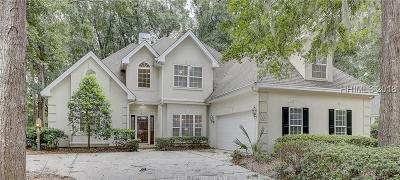 Hilton Head Island Single Family Home For Sale: 13 Wildbird Lane