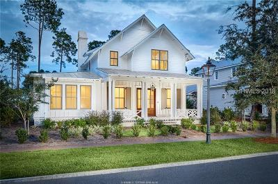 Beaufort County Single Family Home For Sale: 45 Red Knot Road
