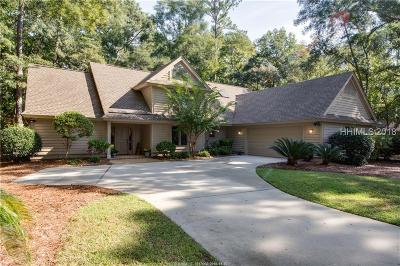 Hilton Head Island Single Family Home For Sale: 54 Hickory Forest Drive