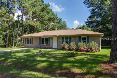 Hardeeville Single Family Home For Sale: 605 Thomas Street