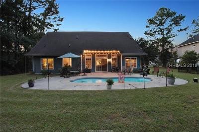 Beaufort County Single Family Home For Sale: 74 Heritage Lakes Drive