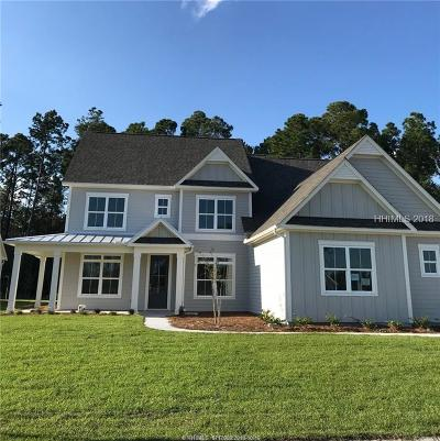 Bluffton SC Single Family Home For Sale: $519,000