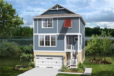 Hilton Head Island Single Family Home For Sale: 55 Hammock Oaks Circle