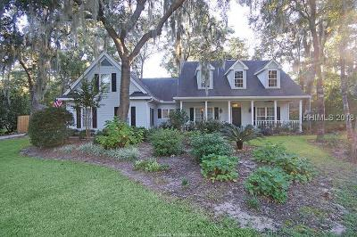 Bluffton Single Family Home For Sale: 23 Old Sawmill Drive