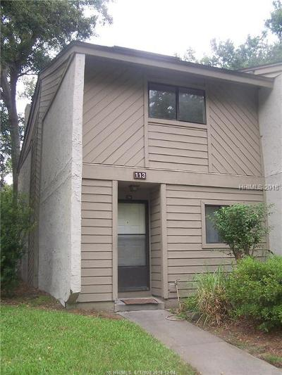 Hilton Head Island Condo/Townhouse For Sale: 96 Mathews Drive #113