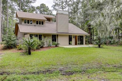 Hilton Head Island Single Family Home For Sale: 4 Myrtle Warbler Road