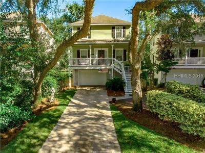 Hilton Head Island Single Family Home For Sale: 13 Gold Oak Court