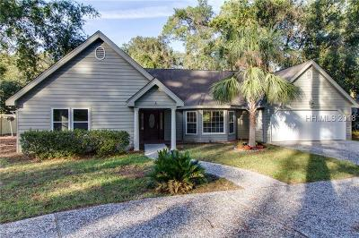 Hilton Head Island Single Family Home For Sale: 6 Sea Olive Road