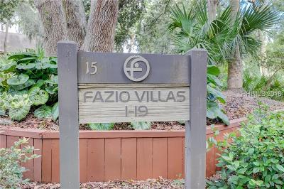 Hilton Head Island Condo/Townhouse For Sale: 15 Carnoustie Road #9