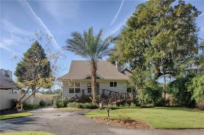 Bluffton Single Family Home For Sale: 24 Palmetto Beach Drive