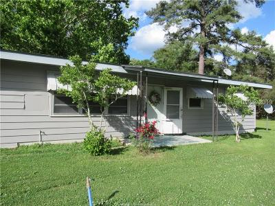 Jasper County Single Family Home For Sale: 651 Foskey Road