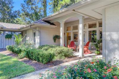 Beaufort County Single Family Home For Sale: 56 Wedgefield Drive